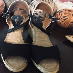 Lucky Brand espadrilles black/tan